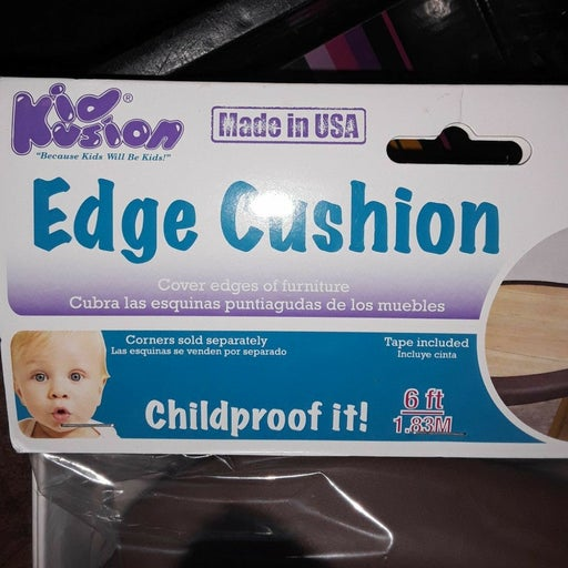 Edge cushion to protect baby from corner