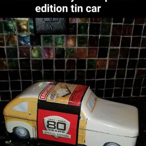 Craftsman 80 year anniv car tin