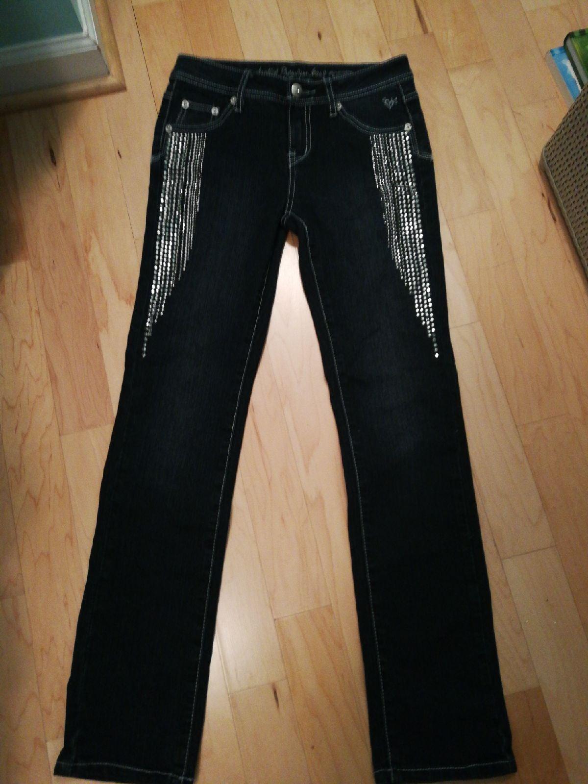 Justice girls jeans sz 12 Regular new