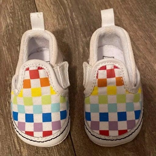 Vans baby tennis shoes