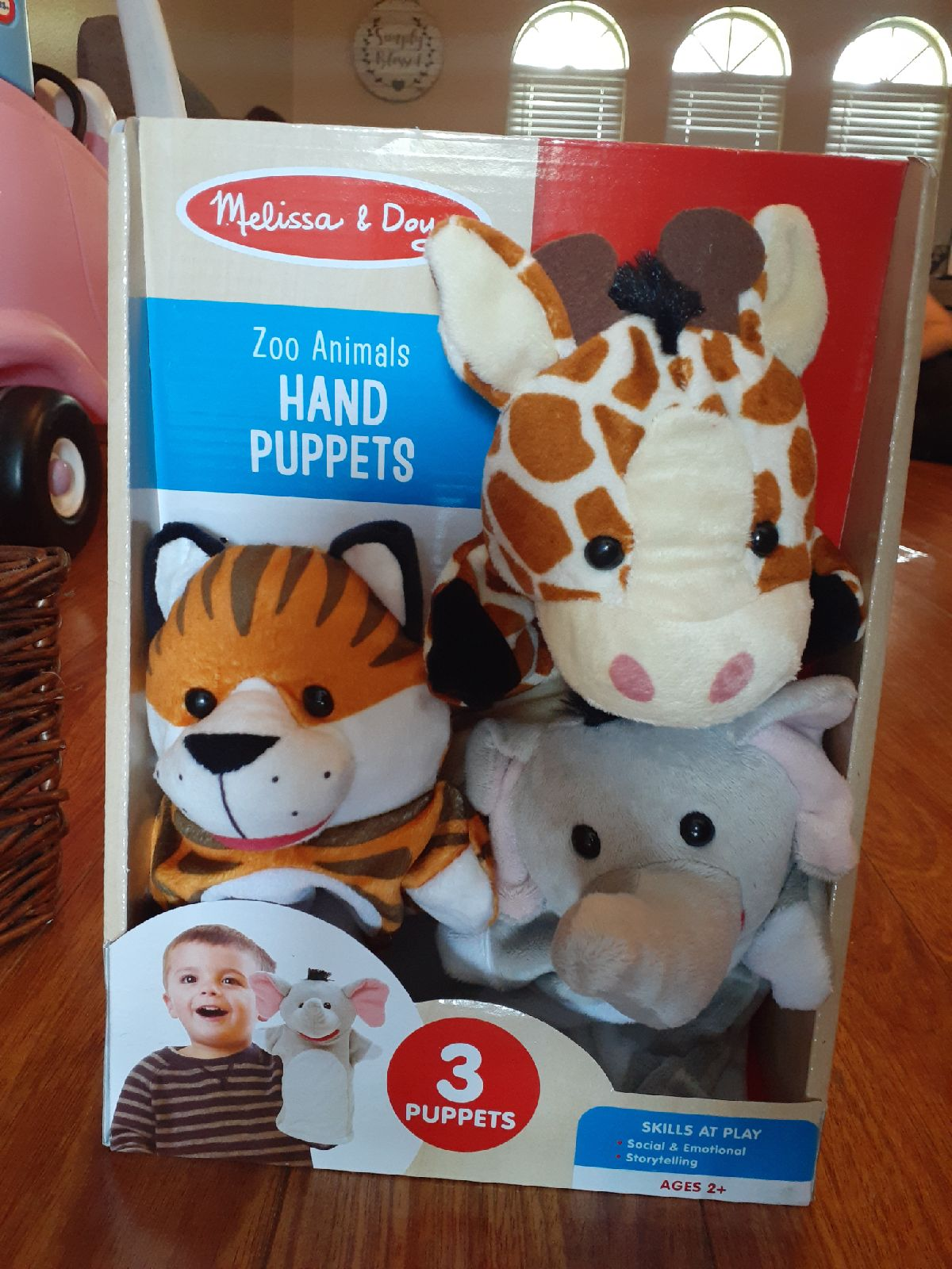melissa and doug hand puppets