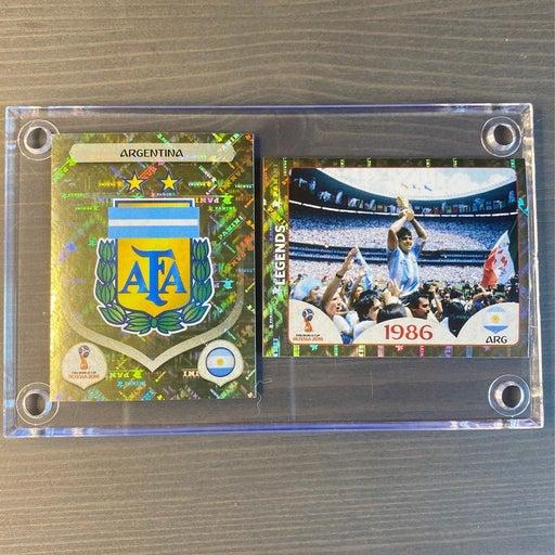 Panini Maradona World  Cup Sticker Lot