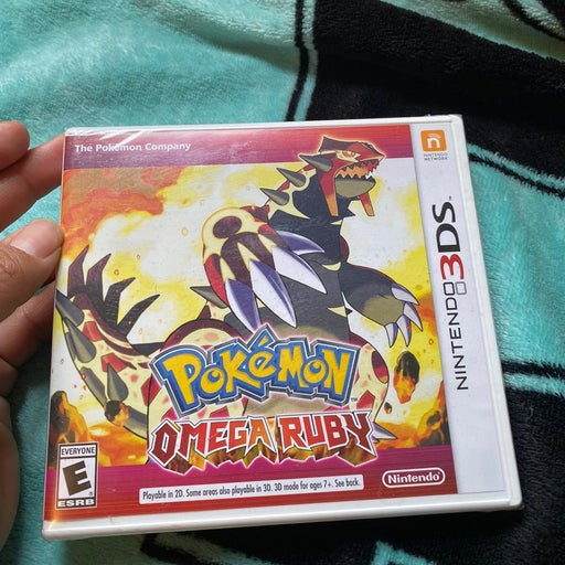 Pokémon Omega ruby on Nintendo 3DS