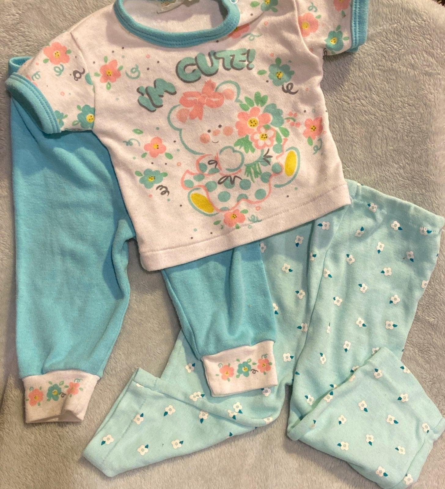 Vintage baby pajamas