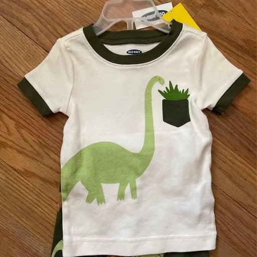 Kids 2pc Dinosaur Shorts & T-shirt (12-18 mos)
