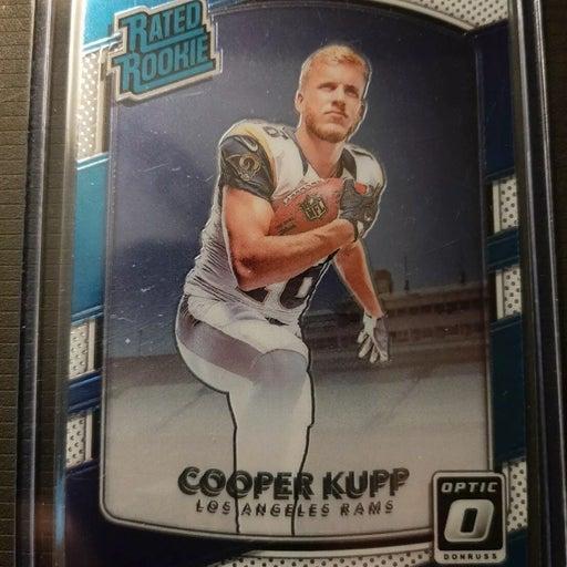 Cooper Kupp Rookie w/ RC lot Van Jefferson