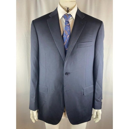 Canali Classic Fit Wool Grey Suit Jacket