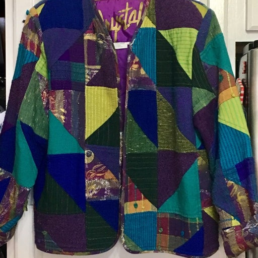 CRYSTAL Patchwork Jacket