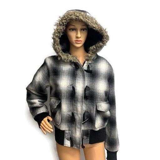 No Boundaries Coat/Jacket With Hood Size