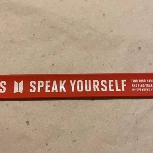 BTS Speak Yourself Snap Bracelet