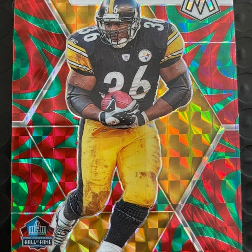 Jerome Bettis Mosaic Red/Green Reactive Prizm Hall Of Fame