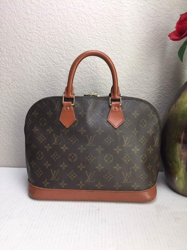 Authentic Louis Vuitton Alma PM HandbaG
