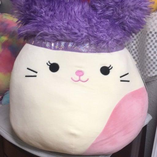 "Squishmallows Karina SquishDoos cat 14"""