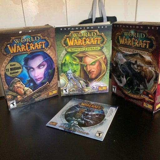 Blizzard World of Warcraft 2008 gamebox