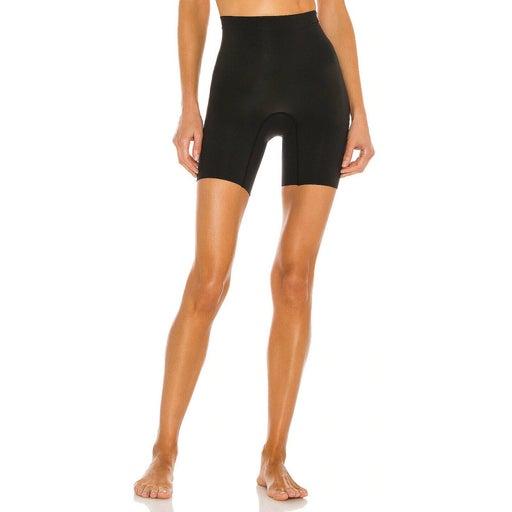 SPANX Power Series Shaping Short Seamless Shapewear Black Slimming Size 1X