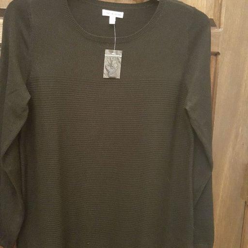 NWT Black sweater tunic