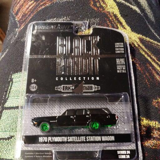 Greenlight Black Bandit GREEN MACHINE
