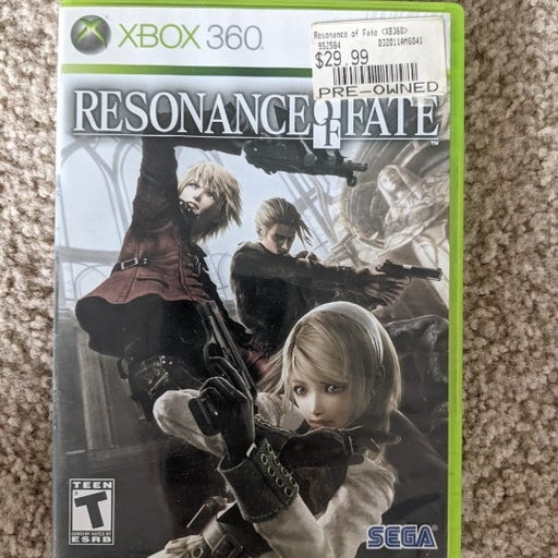 Resonance of Fate (Microsoft Xbox 360, 2010)
