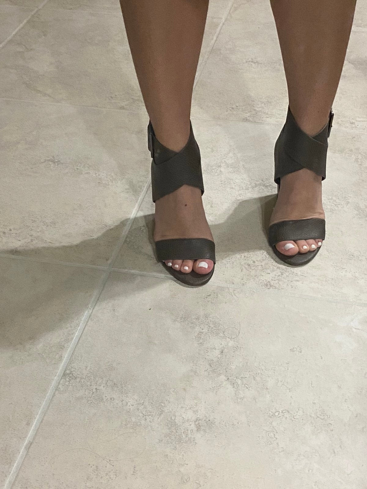 High heels ankle strap