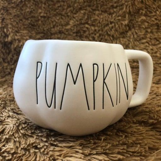 New Release Rae Dunn pumpkin mug