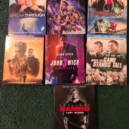 Blu Ray Movies 7 Total
