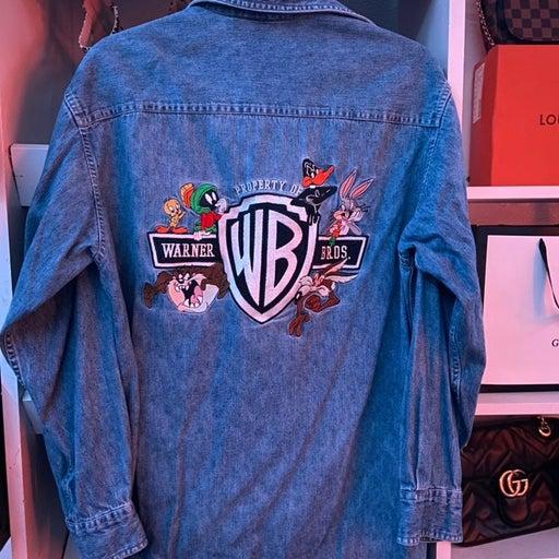 Vintage Warner Bros Denim Jacket