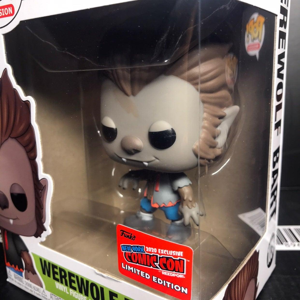 Werewolf Bart NYCC 2020 Funko Pop