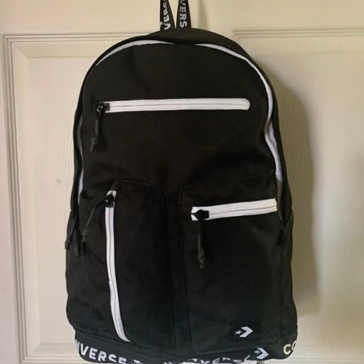 NWT Converse Black and white Backpack