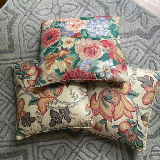 $240  custom Pottery Barn pillows