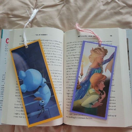 Disney Frozen bookmarks