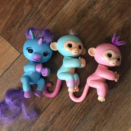 Fingerlings unicorn monkey