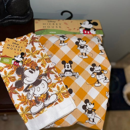 Disney Mickey Mouse Fall Accessories