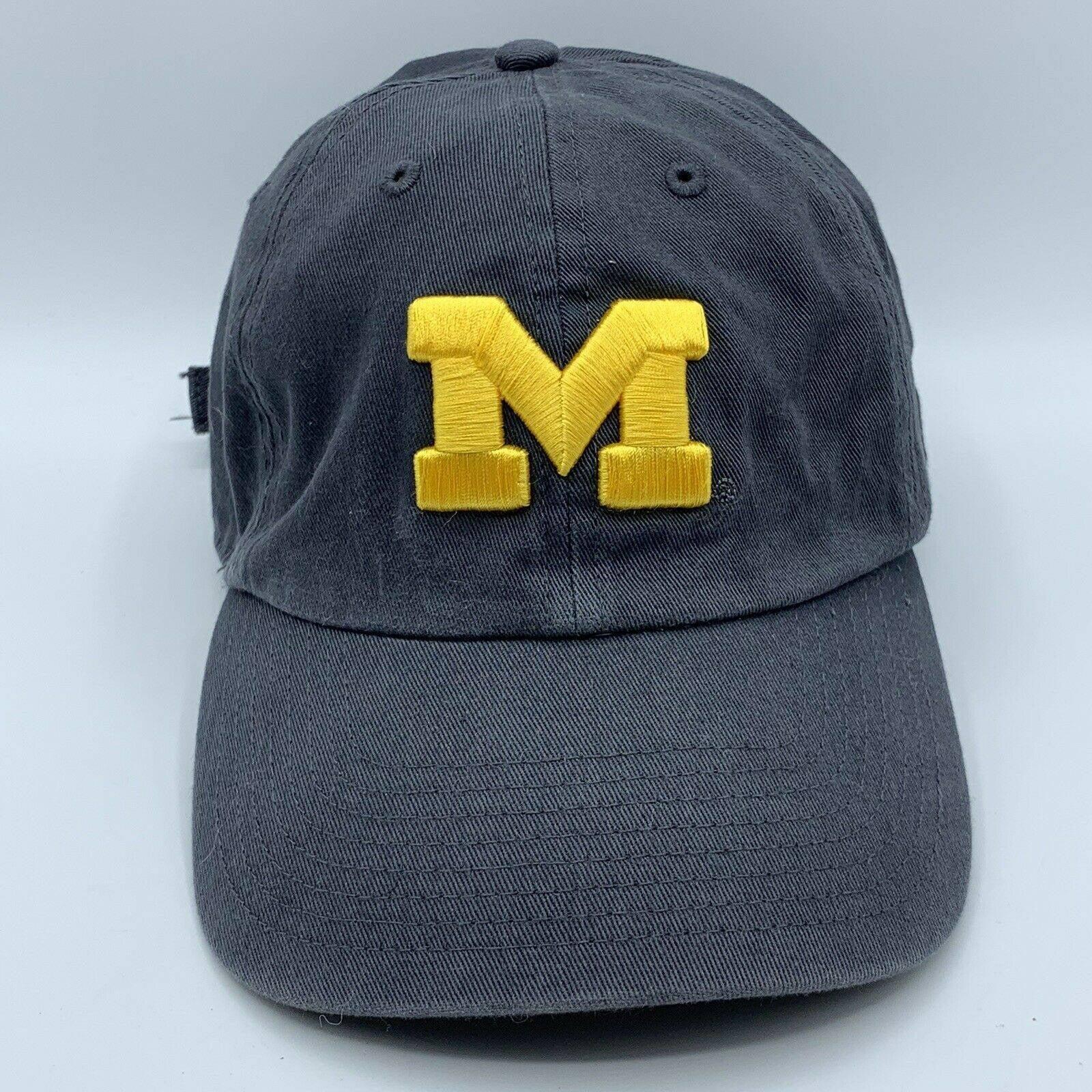 Michigan Hat Strapback College 47
