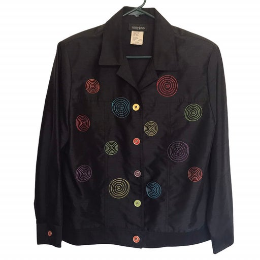 Amy Jess Button Up Blazer/Jacket