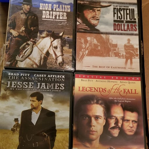 Lot of 4 Western Movies on DVD