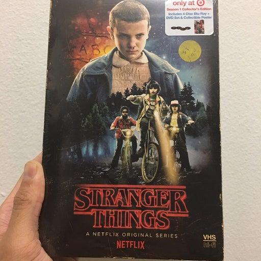 Stranger things Blu Ray