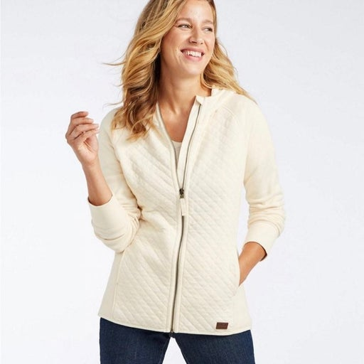 L.L. Bean quilted Zippered jacket