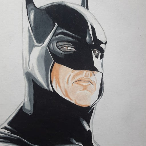MICHAEL KEATON BATMAN PRINT