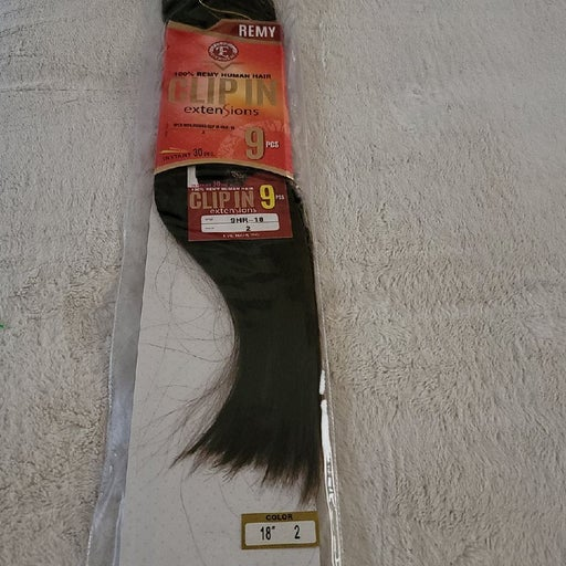 Remy 100% human hair extensions