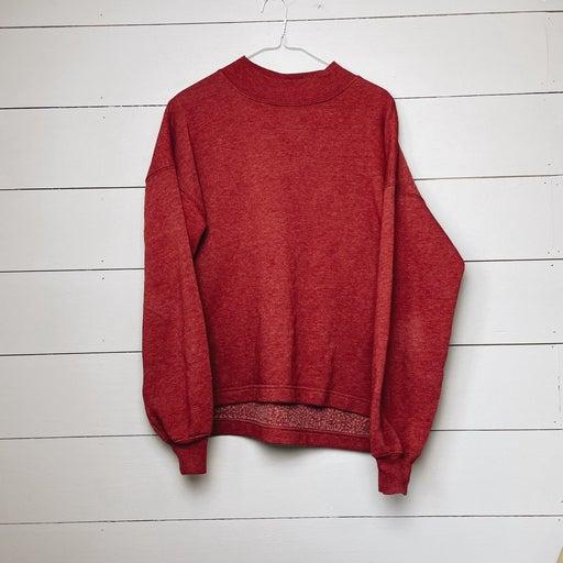 So mock neck Sweatshirt