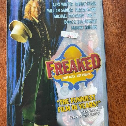 1993 Freaked Anchor Bay DVD Super Rare