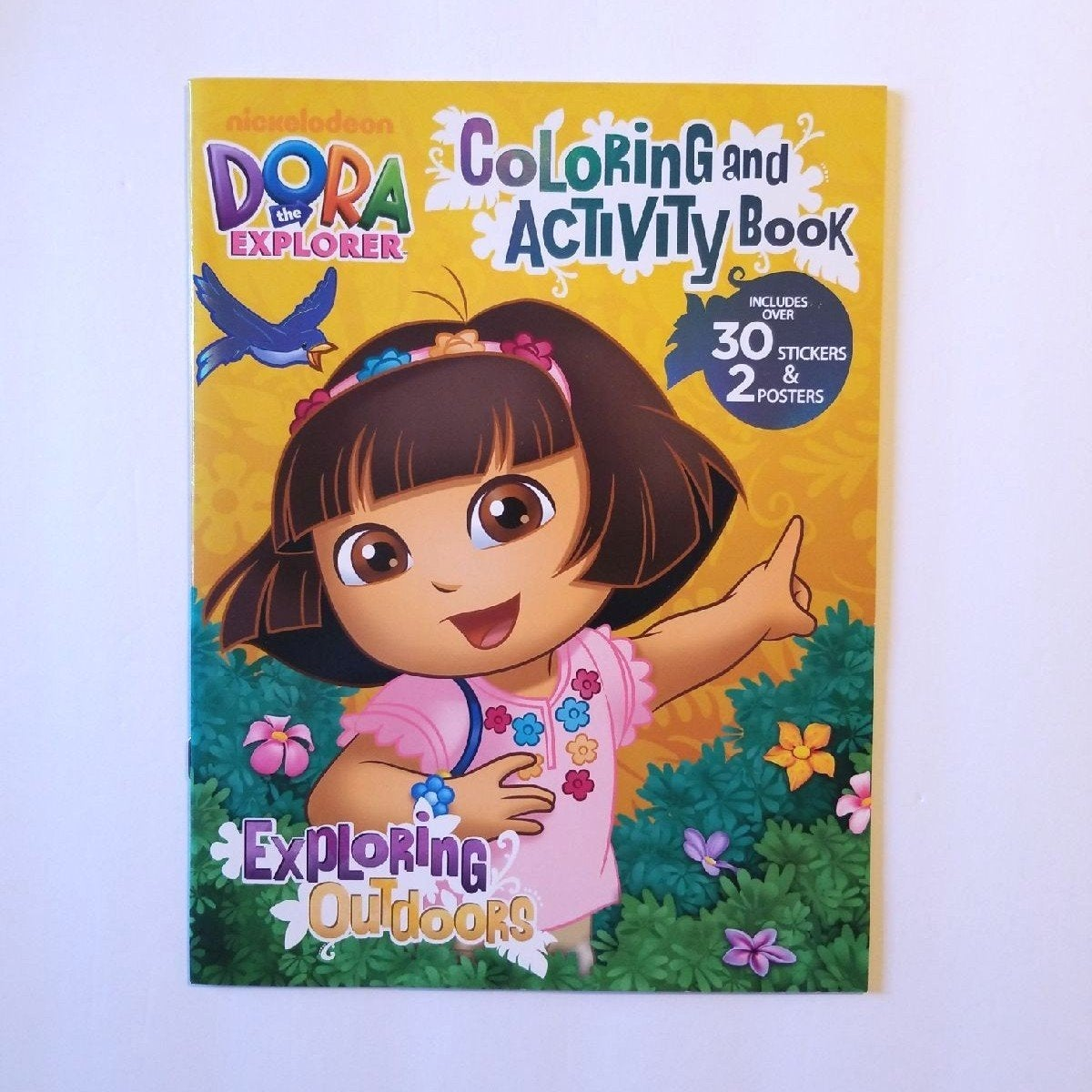 DORA THE EXPLORER COLORING STICKERS BOOK