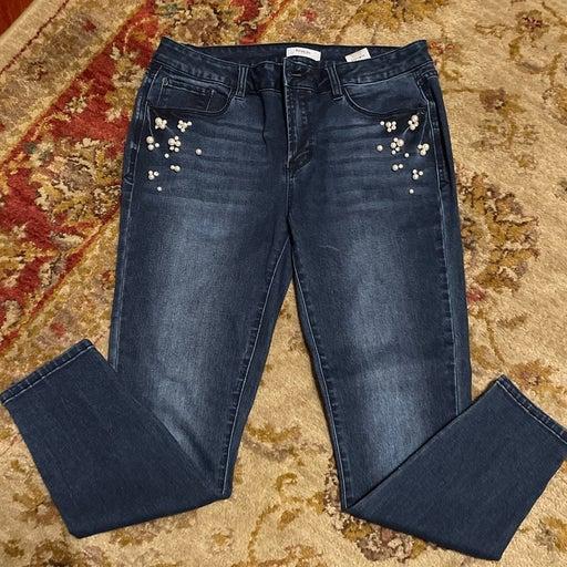 Kensie Jeans - Skinny, Pearl & Rhinestones -30