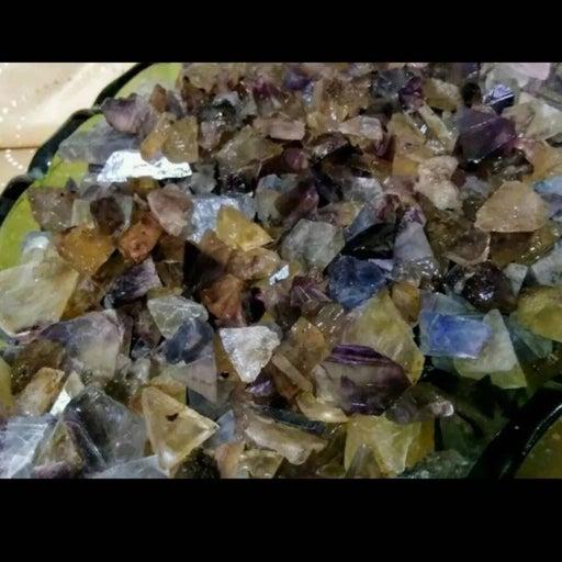 600 Karats raw natural Fluorite Crystal