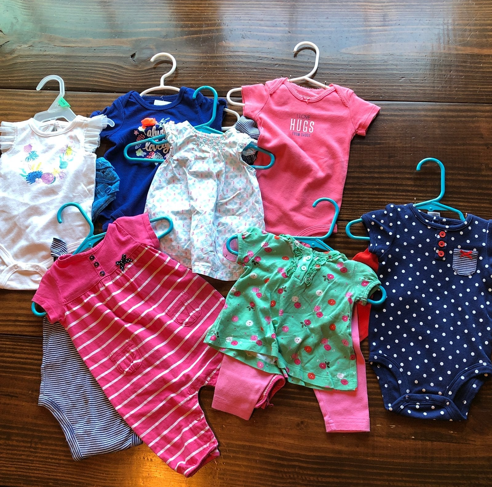 Baby Girl Summer Clothing Lot 0-3M