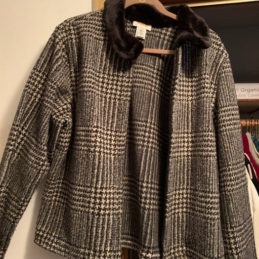 Talbot Houndstooth Jacket