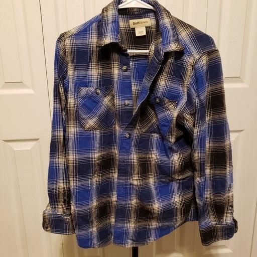 Ruff Hewn Work Flannel Shirt