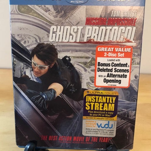 Mission Impossible Ghost Protocol Combo Blue-Ray Like New