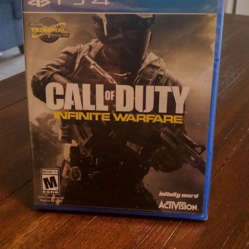 PS4 call of duty Infinity warfare