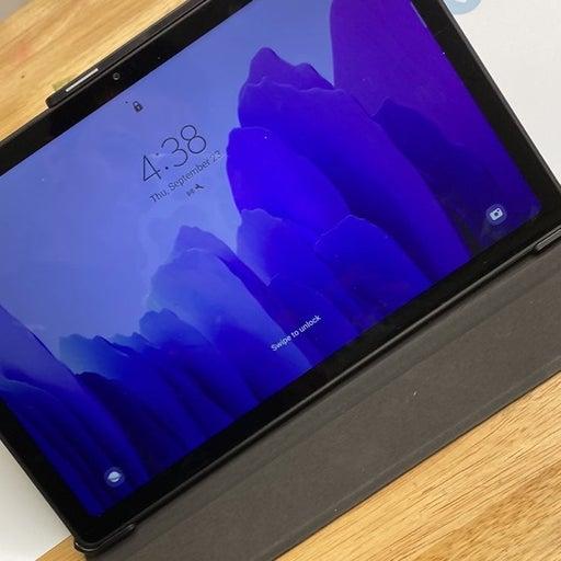 """Samsung - Galaxy Tab A7 10.4"""" Wi-Fi 32GB - Gray"""